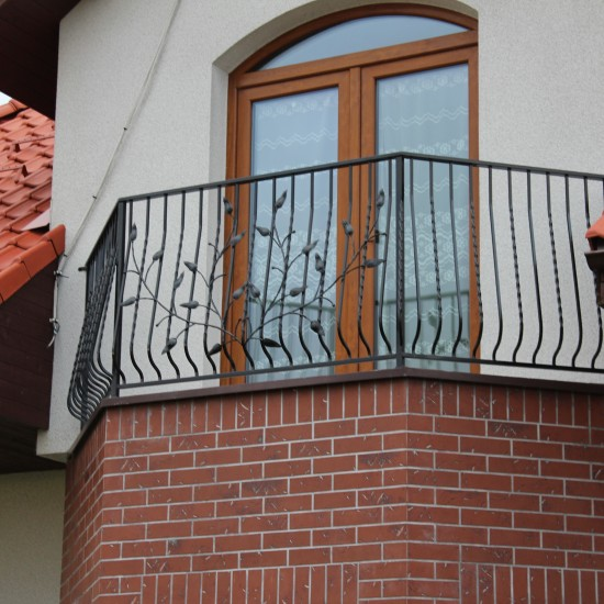 Balkono apssauginiai tureklai su gamtos motyvu